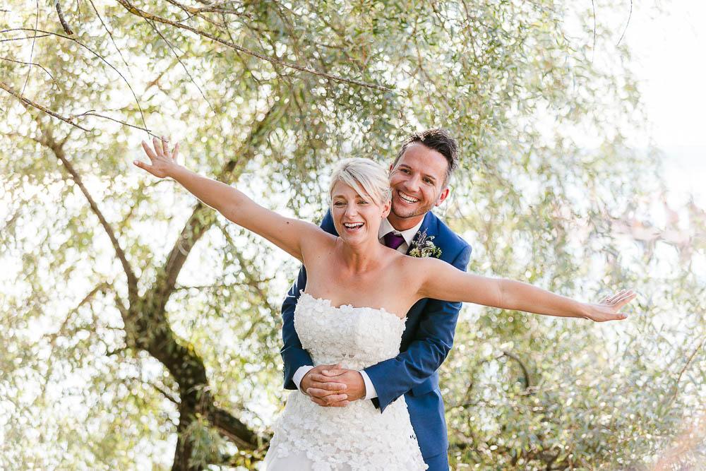 Digital fotografering af brudepar